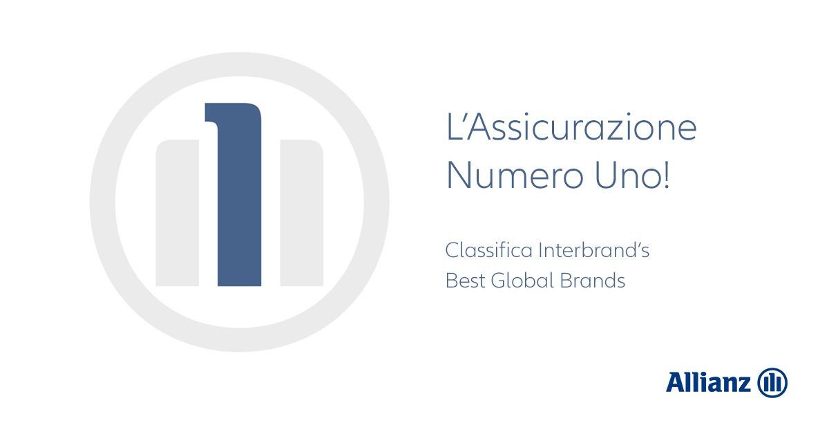 allianz brand numero 1 al mondo